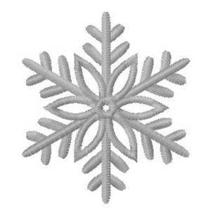 Снежинка красивая