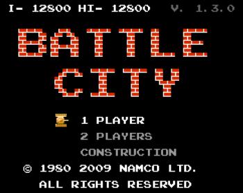 Battle City - игра, известная еще со времен Денди