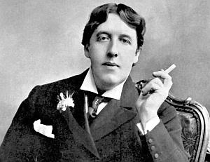 Оскар Уайльд с сигаретой
