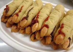 Печенье в форме пальцев