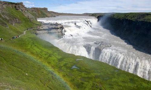 Исландия летом - типичная тундра