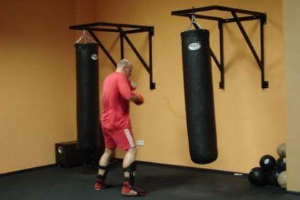 Боксёрский груша своими руками фото
