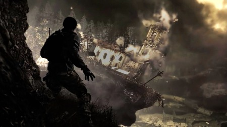 Кадр из игры Call of Duty: Ghosts