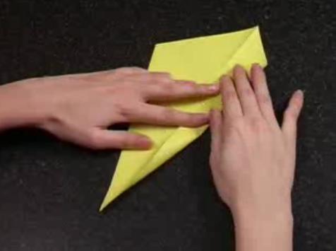 Как сделать из бумаги лебедя из одного листа