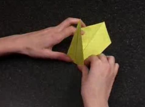 поделки оригами из бумаги лебедь