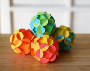 шары из бумаги своими руками