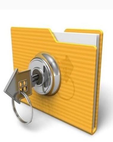 как папку защитить паролем