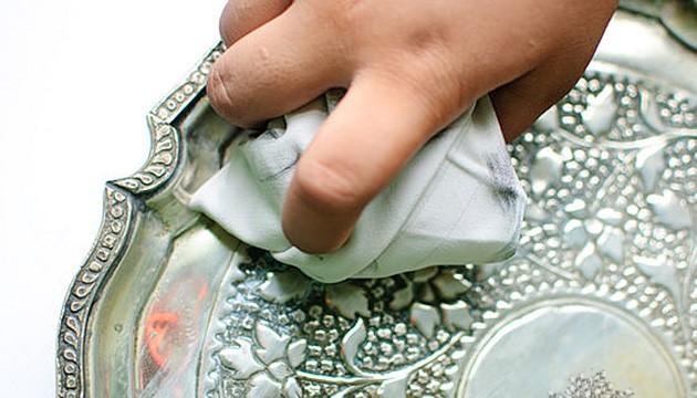 почистить серебро в домашних условиях