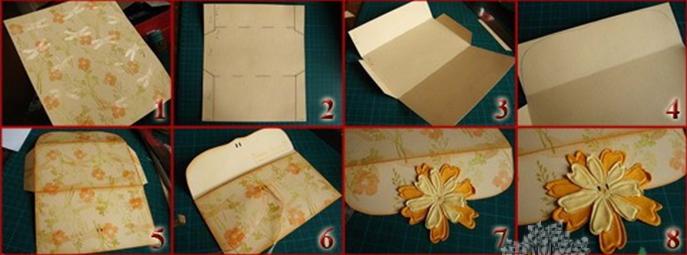Как сделать конверт для денег своими руками