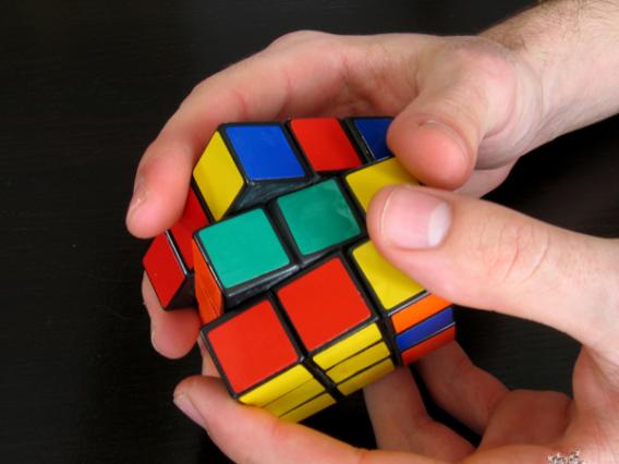 Сборка кубика рубика 3х3 схемы