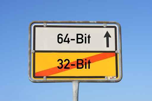 Как сделать 64 бит из 32