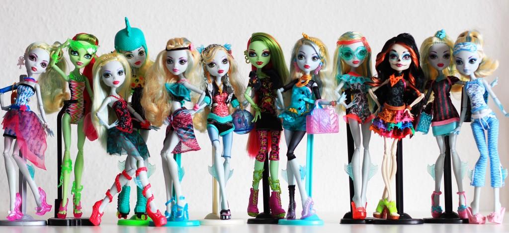 Сколько стоит кукла monster-high
