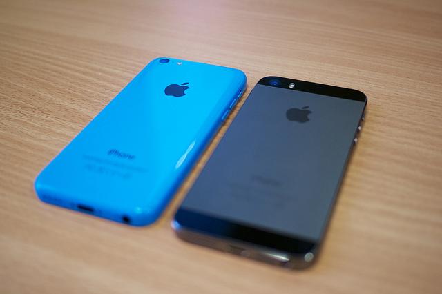 Различия между iPhone 5c и 5s