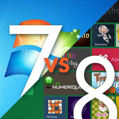 Что лучше Windows 7 или 8
