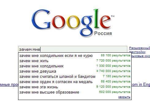 Что такое Google Suggest