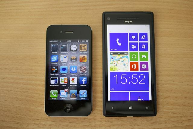 Что выбрать android или windows phone 8?