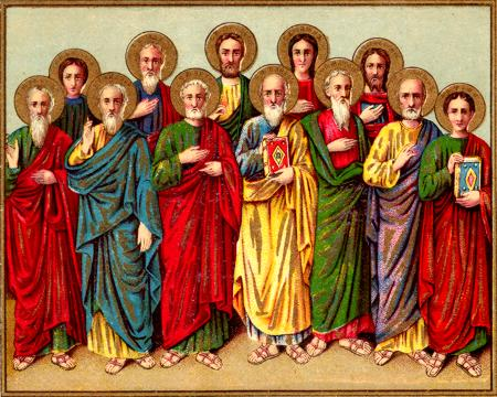 Сколько апостолов было у Христа