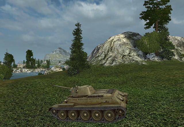 Чем оборудовать советский Т34 ?