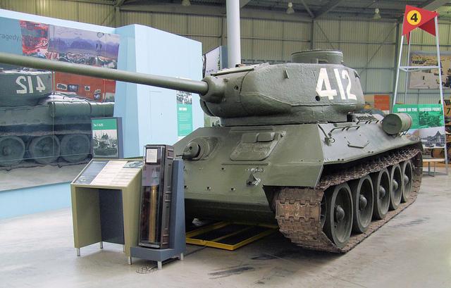 Как оборудовать советский Т-44?