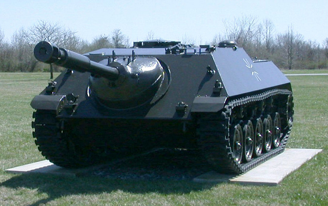 Чем оборудовать немецкий Е-25?