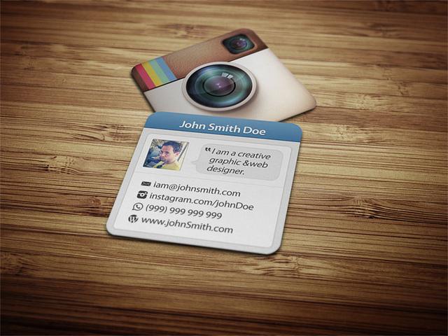 Как сделать визитную карточку?