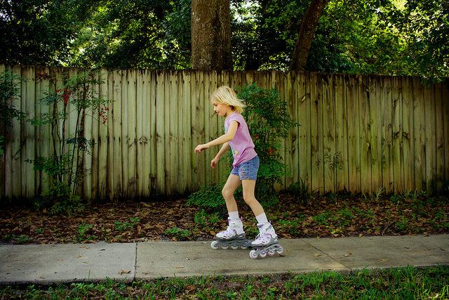 Как подобрать детские ролики?