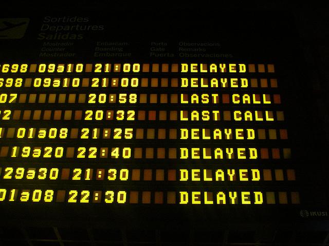 Что предпринять в случае задержки рейса?