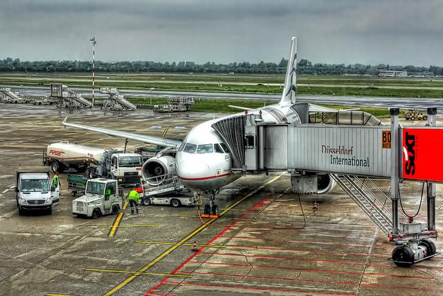 Регистрация пассажиров на самолет