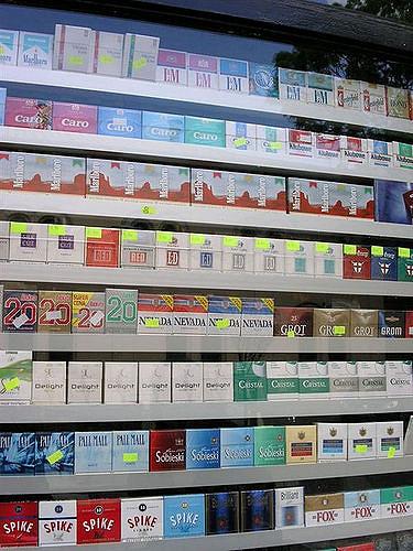 Цена лицензии на сигареты в 2016 году